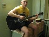 под гитару - амур))-универ общага 2010 :Когда зимой холоднаю,в крещенские морозы,щебечет песню соловей и распускаются мимозы,ког